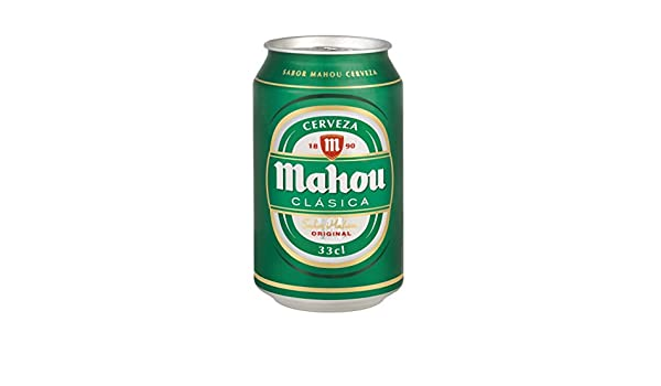 MEGAPACK Mahou Clasica lata 33cl - 220 ud - Envío 24/48h Incluido: Amazon.es: Alimentación y bebidas