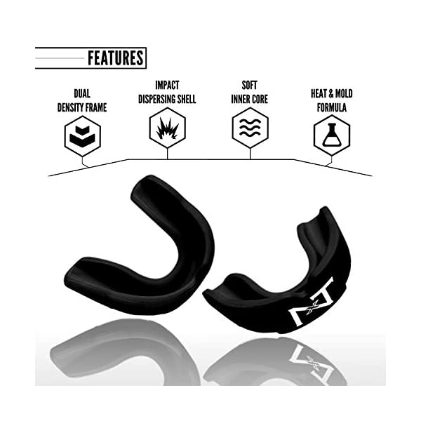 Nxtrnd Rush Sports Mouth Guard - 2 Pack Mouthguard 3