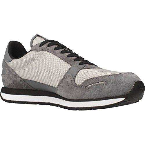 Sneaker Herren Armani Grau Emporio Runner 8WOfEX