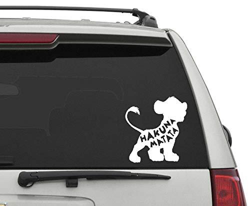 Disney Car Decal - Simba Car Decal - Lion King Car Decal - Disney Wall Sticker - Disney Decor - Kids Decal - Kids Room Decor - Name Decal