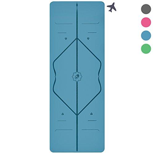 Liforme The Travel Yoga Mat, Light and Portable, Non Slip Al