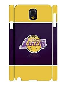 Classic Basketball Series HandmadeMen Pattern Team Logo Snap on Background for Samsung Galaxy Note 3 N9005 Case