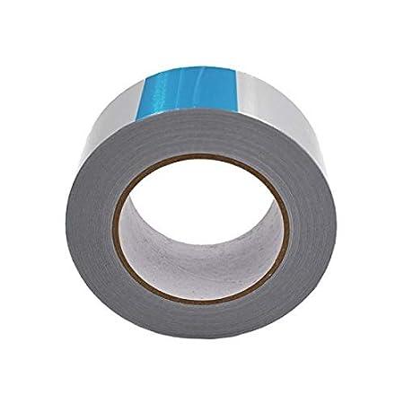 Fixman 190288/Argent en feuille daluminium ruban adh/ésif 50/mm x 45/m