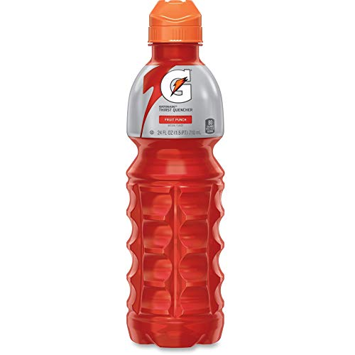 - PepsiCo, Inc 24121 Gatorade Sports Drink, 24 oz Bottle, 24/CT, Fruit Punch