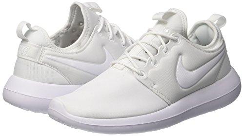 white Corsa Platinum Nike Da white Scarpe pure Two Bianco Roshe Donna RqI8U