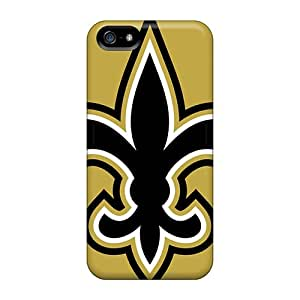 Shock Absorbent Hard Phone Case For Iphone 5/5s (suM629tNPi) Support Personal Customs Fashion New Orleans Saints Skin