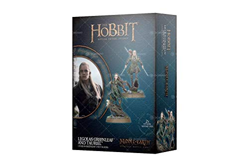 Lord of The Rings: Legolas Greenleaf and Tauriel Plastic Kit (Lord Of Rings Games Workshop)