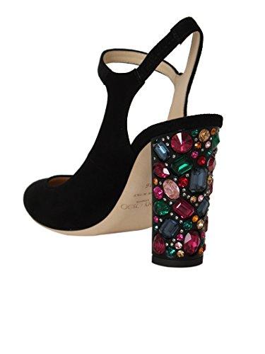 Talons Femme Suède MEAGAN100UCHBLK Noir Jimmy Choo Chaussures À 0gZw0Uq