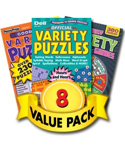 (Penny Dell Variety Puzzle 8-Pack)