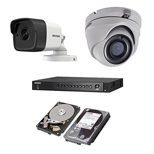 超人気 HIKVISION(ハイクビジョン) 防犯カメラセット B074Z67QFR 5年保証 監視カメラ スマホ対応 × 1台(243万画素フルハイイビジョン)+2TB HDD 屋外内用 小型 4CH スマホ対応 OSD対応 録画機能付き 4CH 防犯カメラ セット 9点セット 屋外用1台屋内ドーム1台 TVI-SET8-C1-2TB B074Z67QFR, 網戸屋本舗:33b27acc --- trainersnit-com.access.secure-ssl-servers.info