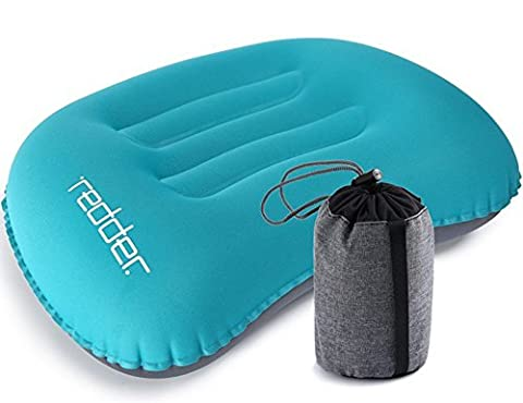 Inflatable Travel Camp Pillow Portable for Head Neck Chin Lumbar, Ultralight Camping Pillows for Outdoor (Vertebre Colonna Vertebrale)