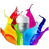 YEELIGHT 9W 600Lumens WiFi LED Bulb Remote Control Dimmable RGB Color Changing E27 220V or Xiaomi (Multicolour)