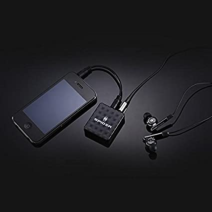 C-EAMP-BK02 Amplifier Black Spider XtremeBass AMP