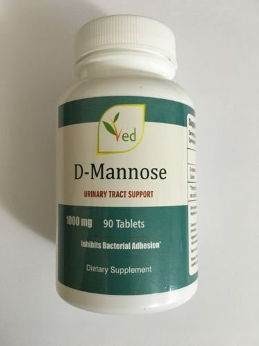 D-Mannose 1000mg, 90 Tablets – Urinary Tract and Bladder Health Support