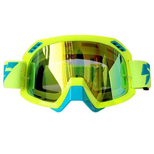 de Fondo de Lentes Ciclismo PC Prueba Color a Prueba ya esquí explosiones esquí de B Polvo Impermeables Gafas de 6xqEtt