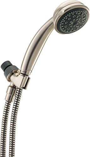 Delta 76516sn 5 function hand shower, satin nickel