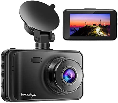 Dash Cam 2020 New Version 1080P FHD DVR Car Dashboard Camera Recorder 3 LCD Screen 170 Wide Angle, Super Night Vision, G-Sensor, WDR, Parking Monitor, Loop Recording, Motion Detection