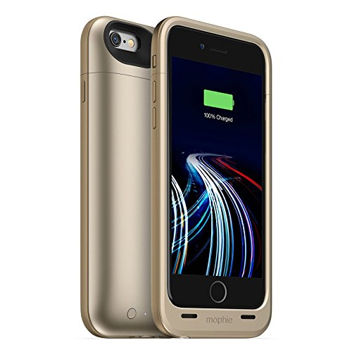 Mophie Juice Pack Ultra Battery Case for iPhone 6/6s Gold (Renewed)