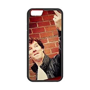 iPhone 6 Case, [Benedict Cumberbatch] iPhone 6 (4.7) Case Custom Durable Case Cover for iPhone6 TPU case(Laser Technology) by runtopwell