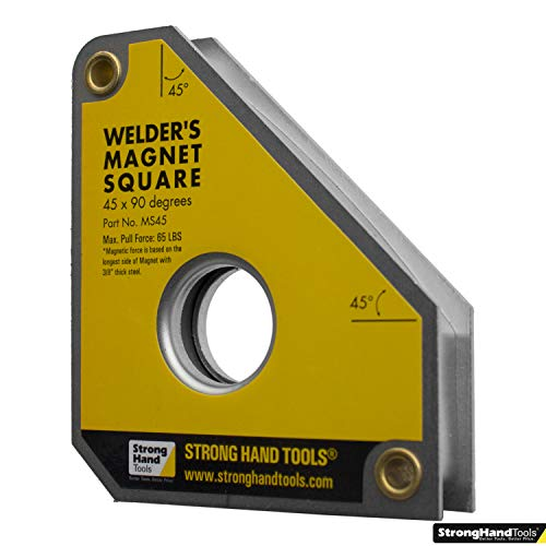 Strong Hand Tools, Multi-Angle Magnetic Welding Square, MS45