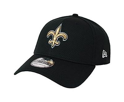 New Era 39Thirty Hat New Orleans Saints 2016 NFL Sideline On Field Black Cap