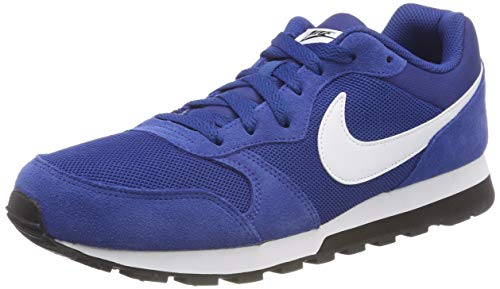 White Blue Blau NIKE Runner Sneakers Black Herren Md 2 001 Gym f048q