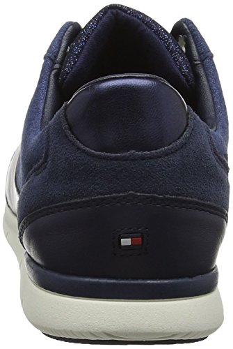 Hilfiger Basses Sparkle Light Femme Sneakers tommy Navy Tommy Sneaker 406 Bleu daw75qXw