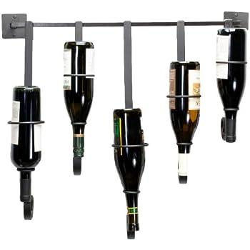Oenophilia Bottle Gallery Wall Wine Rack - 5 Bottle
