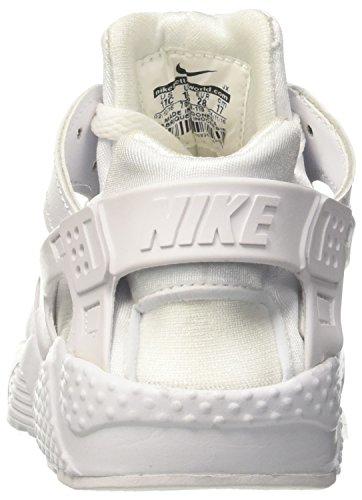 Nike Huarache Little Kids Running Shoes White/Pure Platinum 704949-110 (11.5 M US) by Nike (Image #2)