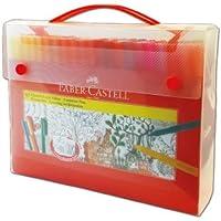 Faber-Castell 5062155062 Eğlenceli Keçeli Kartlı, 60'Lı Set, 60 Renk
