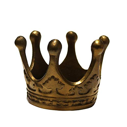 Gold Crown King Queen Cigar Ashtray Candy Prince Princess Royal Dish Exclusive