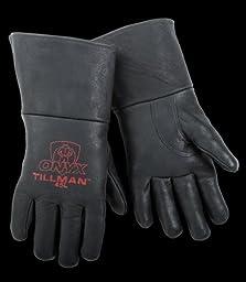 Tillman 45 Top Grain Pigskin Foam Lined MIG Welding Gloves - Large