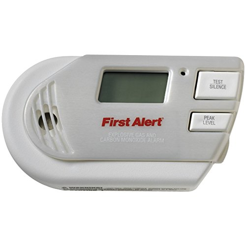 First Alert GCO1CN Plug In Combination Explosive Gas/Carbon Monoxide Alarm with Battery Backup - Carbon Monoxide Detector Natural Gas