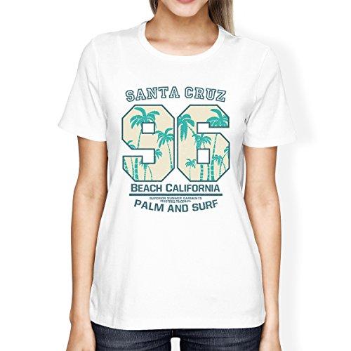 corta 365 de tama o manga para Printing Camiseta de est mujer w7RCO4q