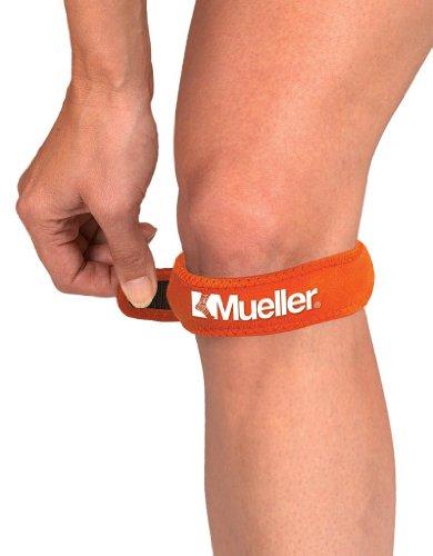 Mueller Jumper's Knee Strap, Orange, One Size