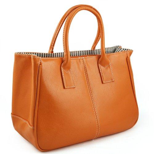 Toogoo (r) - Cloth Bag Women Orange Orange Orange - Orange