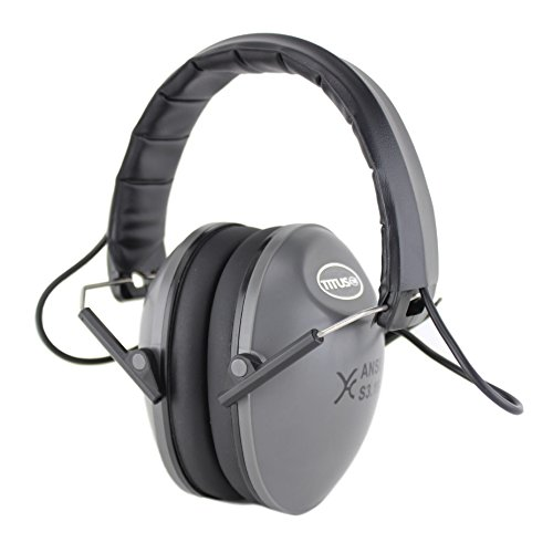 Titus E-Series - Low-Profile - Electronic Noise Cancelling Safety Earmuffs - Hearing Protection Standard