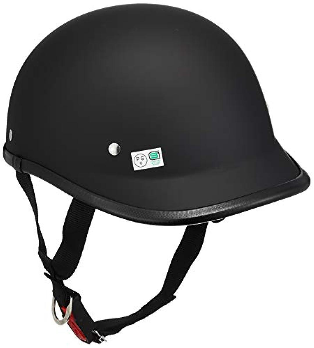 [해외] 오토VIPER트 센터 헬멧 허프 롱 덕 테일 매트 블랙 프리 사이즈 (머리위 57CM~60CM미만) 722205