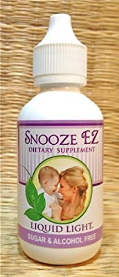 Snooze EZ (2 oz Bottle) - Insomnia, Anxiety, Sleep Support, Pregnancy & child safe too. Used Safely and Effectively for nearly 20 years. Midwife approved.
