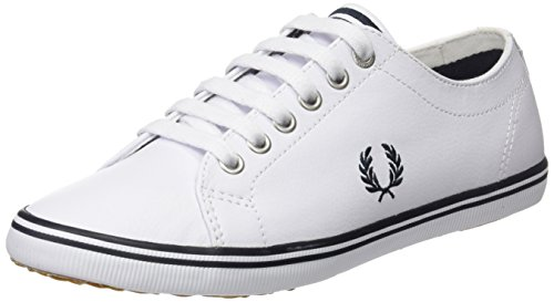 Fred Leather 1 Kingston Sneaker Perry White Ar6FqA7w