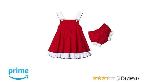 8891e5e20008 Amazon.com  Newborn Baby Girl Summer Dress Tops+Tutu Pants 2PCS Outfits  Clothes Sunsuit Set 0-24M  Clothing