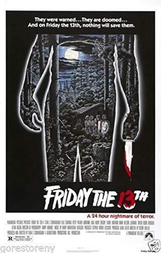 Buyartforless Friday The 13th Movie Poster (1980) 24x36