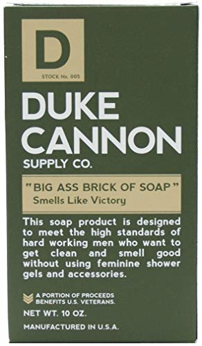 Duke Cannon Big Brick of Soap for Men – Victory, 10 ounce 3 Pack
