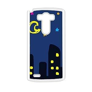 Cartoon night scenery fashion phone case for LG G3