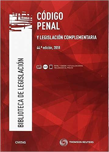 Código Penal Y Legislación Complementaria por Julio Díaz-maroto Y Villarejo epub