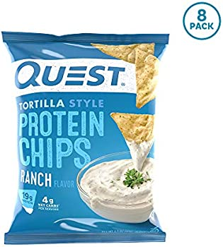 8-Count Quest Nutrition Tortilla Style Protein Chips