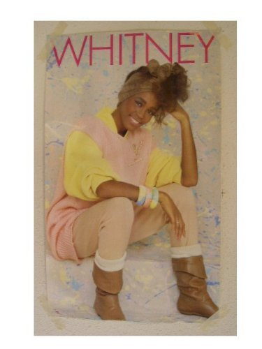 Whitney Houston Early 80s Shot Poster 8A RhythmHound
