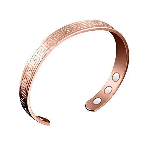 Charming Women Magnetic Health Bracelets & Bangles Magnetic Open Mouth Design Elegant Bracelet Slimming Rings