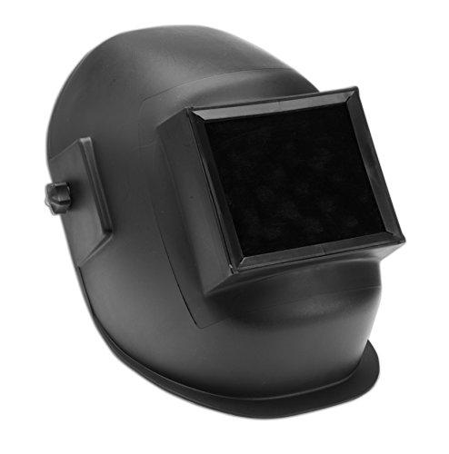 Dynamic Safety EP109 Super-Tuff Black Basic Thermoplastic Welding Helmet, 4.5