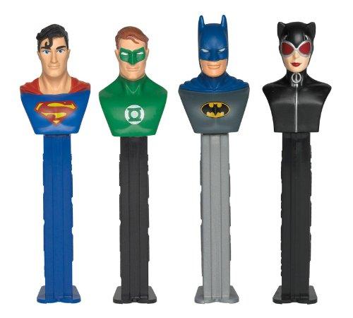 (Various DC Comic Character Pez Despensers, Includes (1) assorted PEZ dispenser)